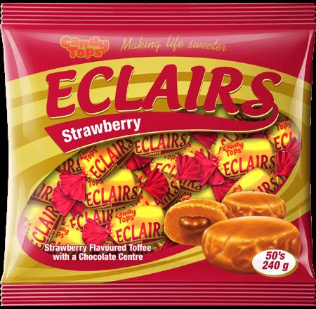 16308 Strawberry Eclairs 50s Bag