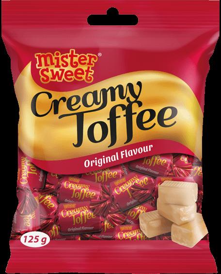Creamy Toffee_125g Bag_Original Render