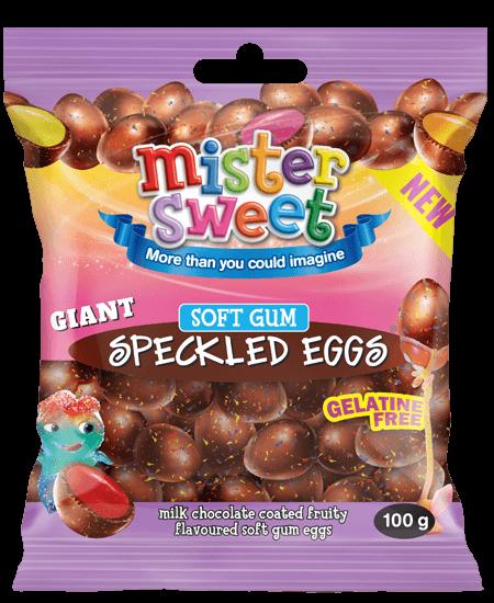 Gaint-Speckled-eggs-milk-choc-soft-gum-100g