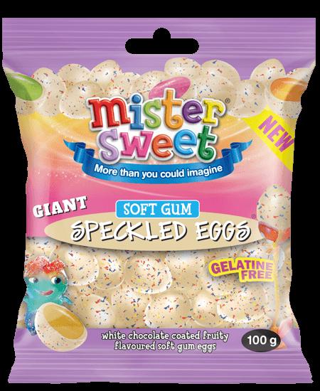Gaint-Speckled-eggs-white-choc-soft-gum-100g